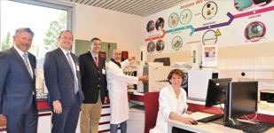 Le laboratoire InterRégional de chimie de la CARSAT Normandie fête ses 30 ans en 2017