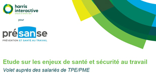 Enquête Harris Interactive : quelle perception les salariés de TPE/PME ont-ils de la santé au travail ?
