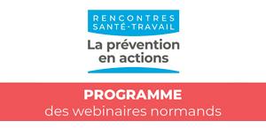 Rencontres Santé-Travail : le programme normand !